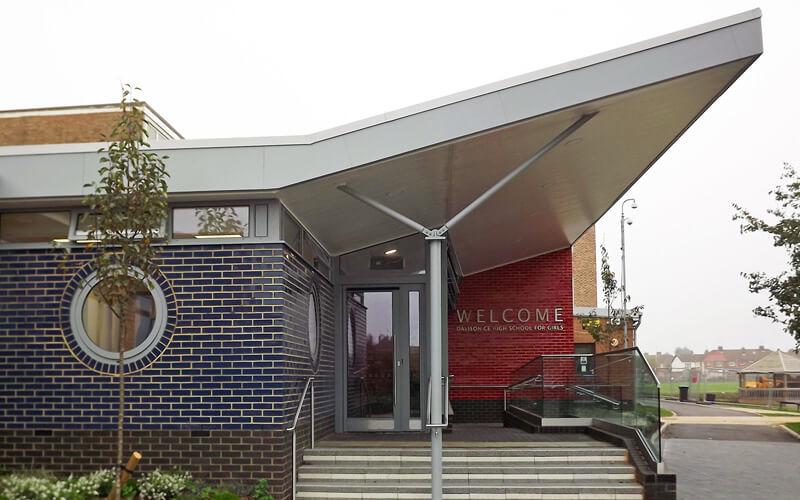 Davison School Entrance, Worthing