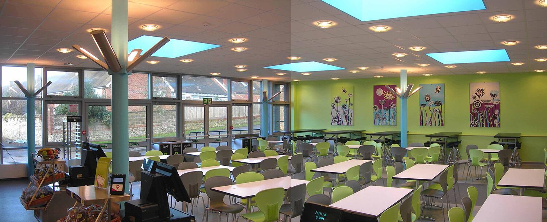 John Whiting Architects - Davison School Cafe, Worthing