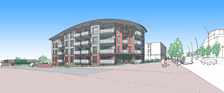 John Whiting Architects - Godington Way Ashford