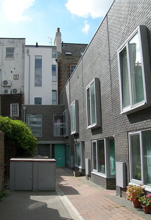 John Whiting Architects - St James Street Mews